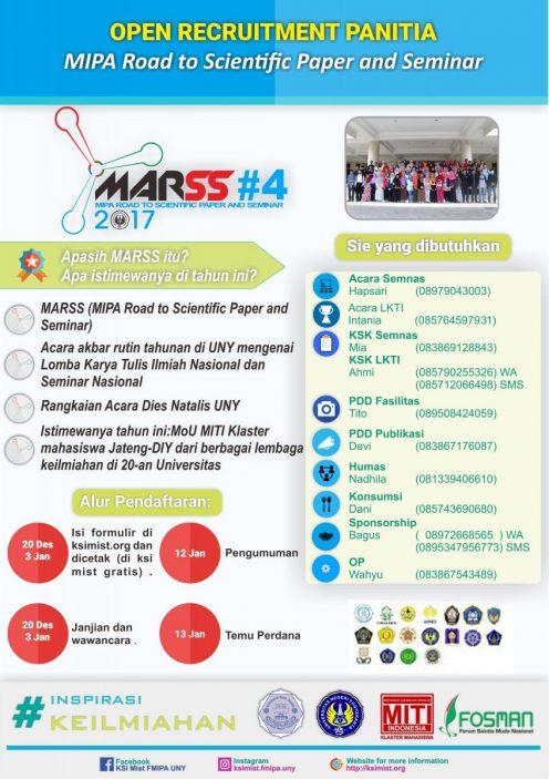 Open Recruitment Panitia MARSS #4